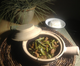 Green Bean Adobo