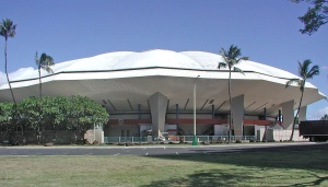 Blaisdell Arena in downtown Honolulu