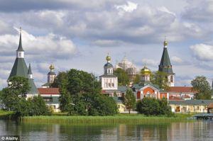 One of Putin's Palaces in Lake Valdai