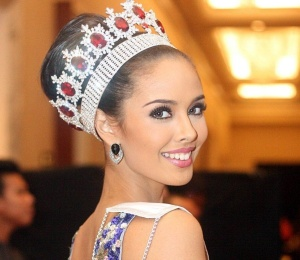 Miss World, the Philippines' Megan Young