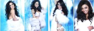 L-R: Misses Philippines, Canada, Guam, Gabon