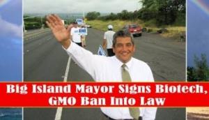 Big Island Mayor Billy Kenoi