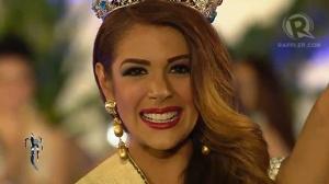Newly-crowned 2013 Miss Earth, Alyz Henrich of Venezuela (Photo credit: Rappler.com)