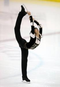 Filipino figure skater Michael Christian Martinez