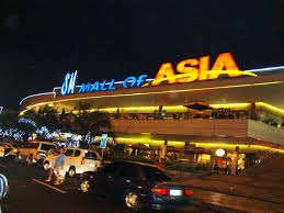 Filipino Olympian trained in the Mall of Asia in the Philippines