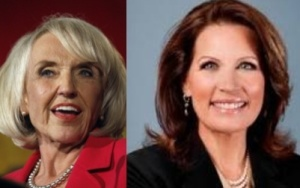 Brewer, left, and Bachmann