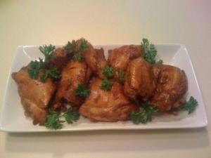 Chicken adobo (photo courtesy of www.MyBayKitchen.com)