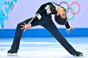 Philippine Olympian Michael Christian Martinez (Photo by Matthew Stockman/Getty Images)