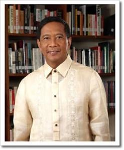 Philippine Vice President Jojo Binay