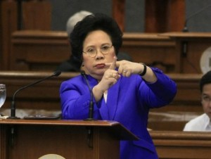 Senator Miriam Defensor-Santiago