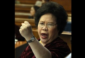 Philippine Senator Miriam Defensor-Santiago (photo credit: philstar.com)