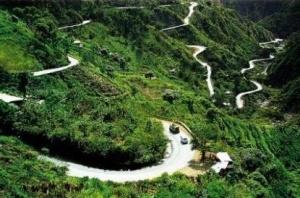Baguio City's Zigzag Road, Philippines