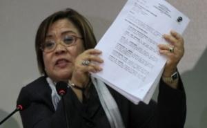 Justice Secretary Leila de Lima