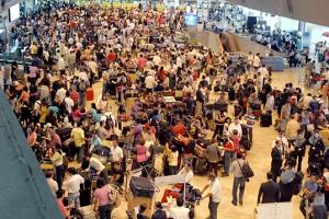 Inside Manila's Airport Terminal