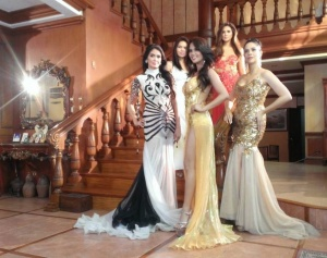 The mentors in the new reality TV show, 'Beauty Queen Academy'