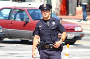 "'The Hot Cop of Castro"" Photo credit: Steven Kyle Weller"