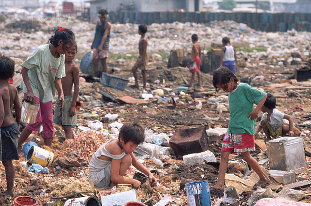Squatters in the Philippines
