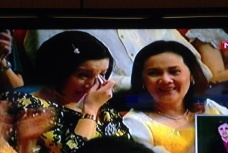 Kris Aquino's emotional moment during SONA (television capture)