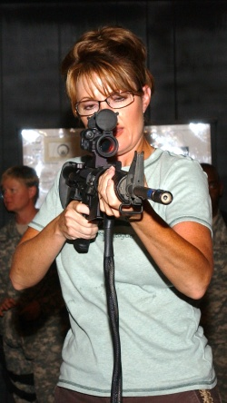 Sarah Palin: image of a strong president?