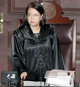Philippine Supreme Court Chief Justice Sereno