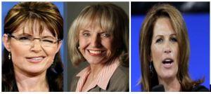 Palin, Brewer, Bachmann
