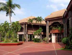 The Coconut Palace, official residence of the Philippine Vice President