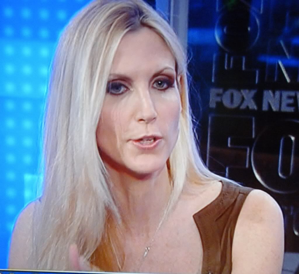 Ann Coulter nude topless