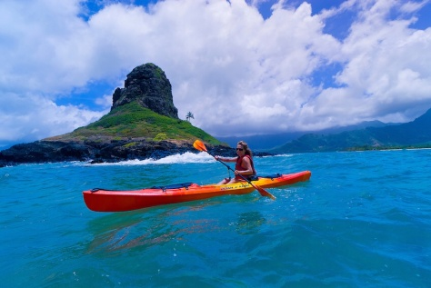 Oahu's Mokoli'i Island, a.k.a. 'Chinaman's Hat'