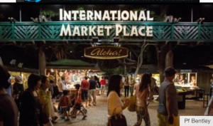 The old and demolished International Market Place