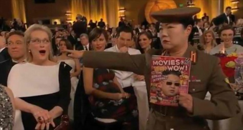 Cho at the Golden Globes