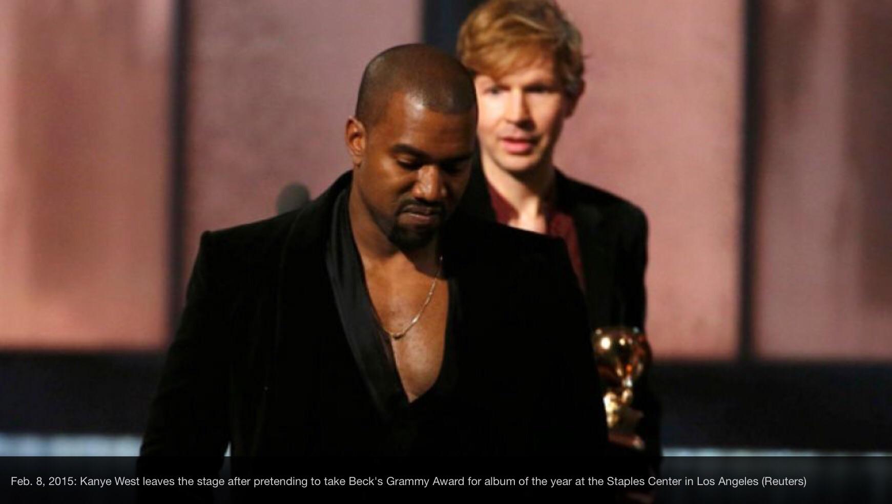 Kanye West 2005 Grammy Speech