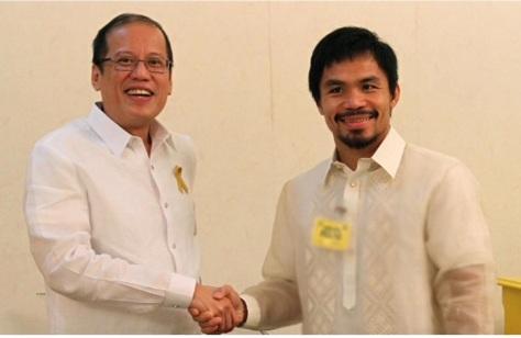 President Aquino, left, and President Pacquiao?