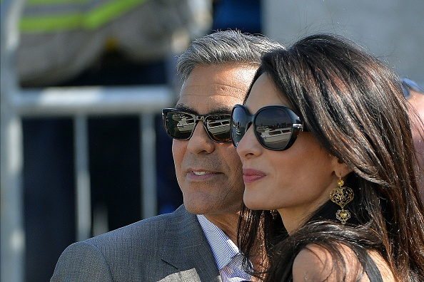 Mr. and Mrs. George Clooney (Photo:  www.ibtimes.co.uk)