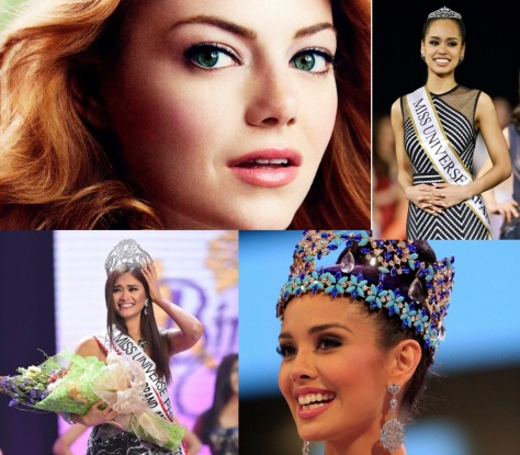 From top left, clockwise: Stone, Miyamoto, Young and Wurtzbach