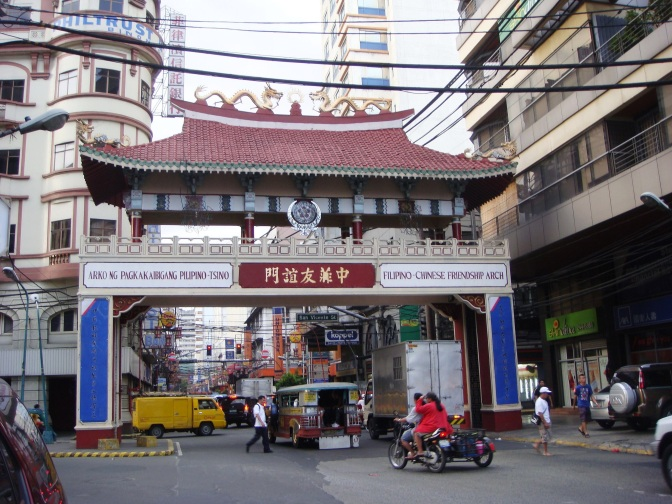CHINA LAYS CLAIM OVER MANILA'S CHINATOWN