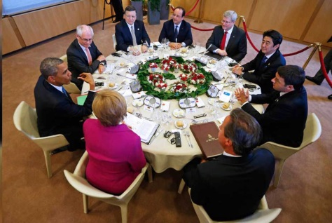 G7 summit meeting in Germany, 2015