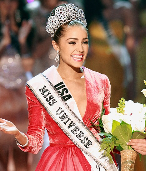 Miss Universe title holder Olivian Culpo of the United States