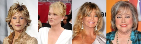 Fonda, Streep, Hawn, Bates