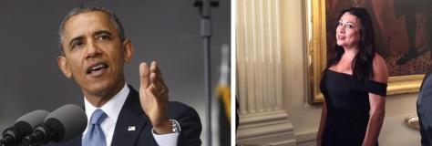 Obama, left, and Gutiérrez