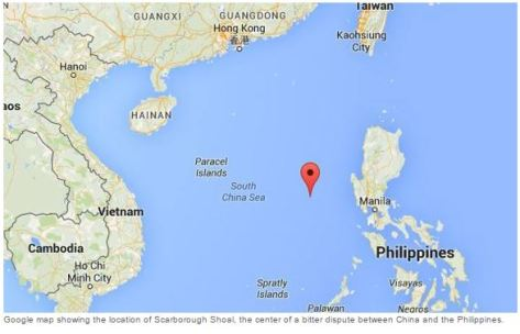 Philippines Islands World Map.With One Mouse Click Google Erases South China Sea Island From