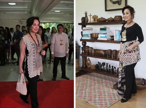 and the award goes to... Senator Loren Legarda