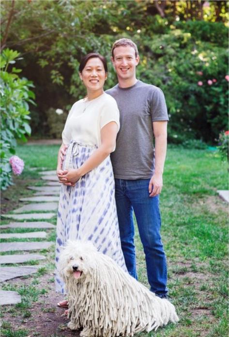 The Zuckerbergs (Photo courtesy of Mark Zuckerberg)