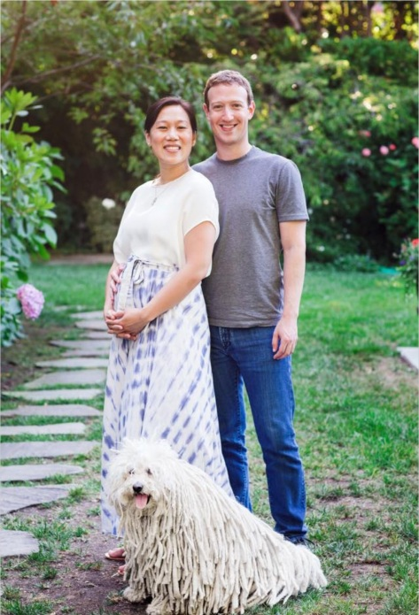 The Zuckerbergs (Photo courtesy of Mark Zuckerberg)