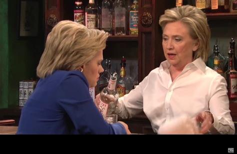 Hillary on SNL