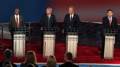 Bush and Trump: too close to call