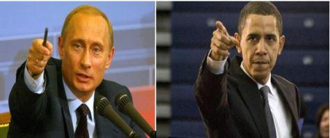 Putin, left, and Obama