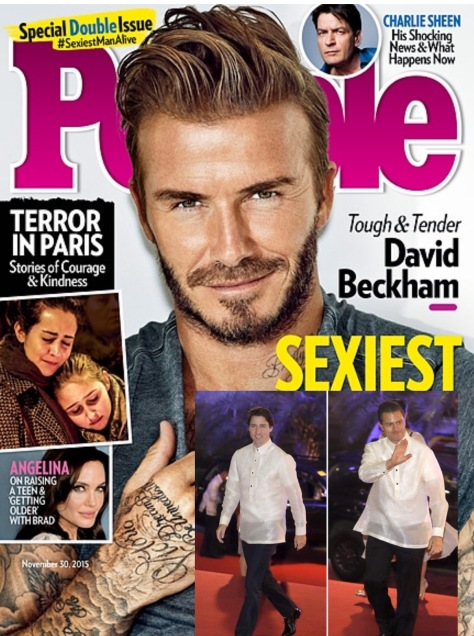 The updated People magazine cover for the 'Sexiest Men Alive' issue