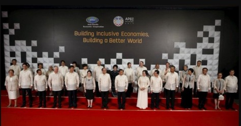 World leaders attending the APEC summit in Manila