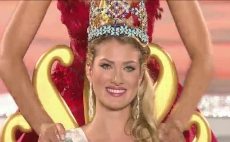 Miss World 2015, from Spain