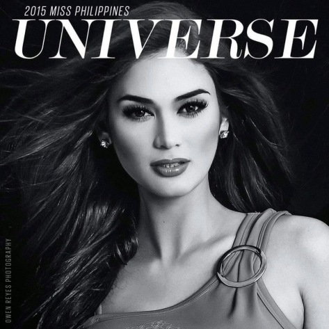 Pia Alonzo Wurtzbach, this year's Philippine bet to the Miss Universe pageant.